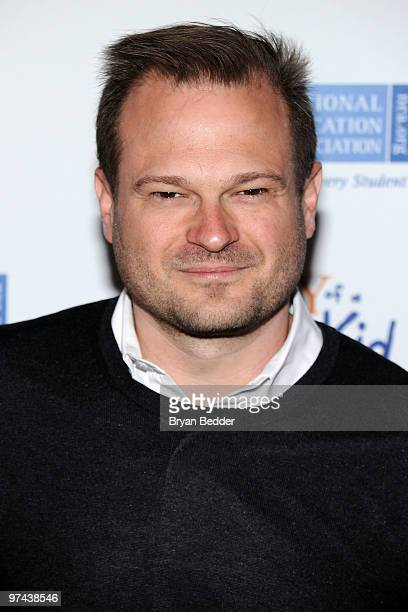 Producer Brad Simpson attends the premiere of Diary Of A Wimpy Kid at the Ziegfeld Theatre on March 4 2010 in New York City