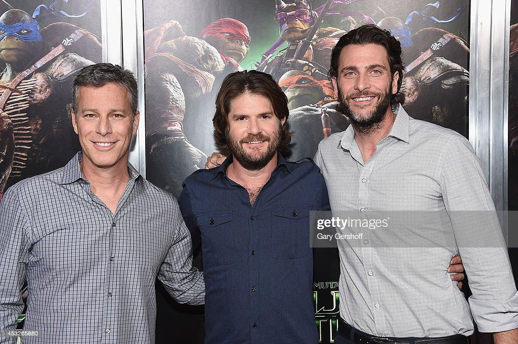 'Teenage Mutant Ninja Turtles' New York Premiere : News Photo