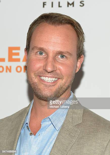 """Producer Brent Miller attends the premiere of Music Box Films' """"Norman Lear: Just Another Version Of You"""" at The WGA Theater on July 14, 2016 in..."""