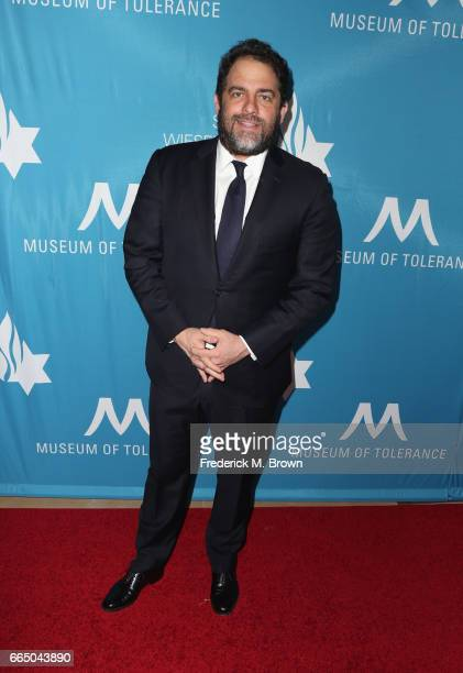 Producer Brett Ratner attends The Simon Wiesenthal Center's 2017 National Tribute Dinner at The Beverly Hilton Hotel on April 5 2017 in Beverly Hills...