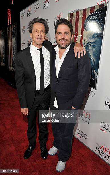 """Producer Brian Grazer and Director Brett Ratner arrive at the AFI Fest 2011 Opening Night Gala World Premiere Of """"J. Edgar"""" at Grauman's Chinese..."""