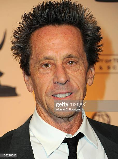 Producer Brian Grazer arrives to the Academy of Television Arts Sciences' Hall of Fame Committe's 20th Annual Induction Gala on January 20 2011 in...
