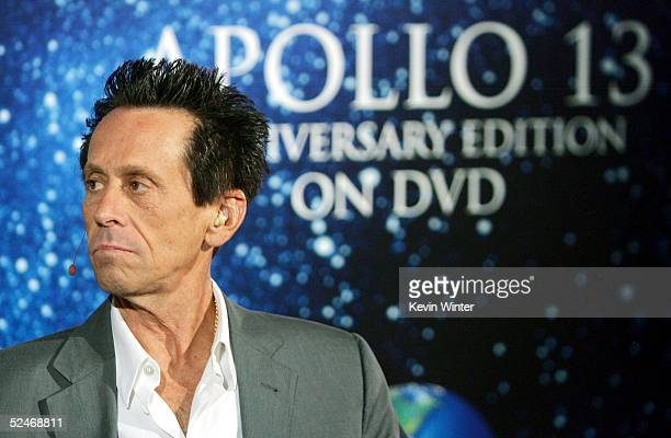 Producer Brian Grazer attends a Q A at Universal Home Studio's 35 Anniversary salute and DVD release of 'Apollo 13' at the California Science...