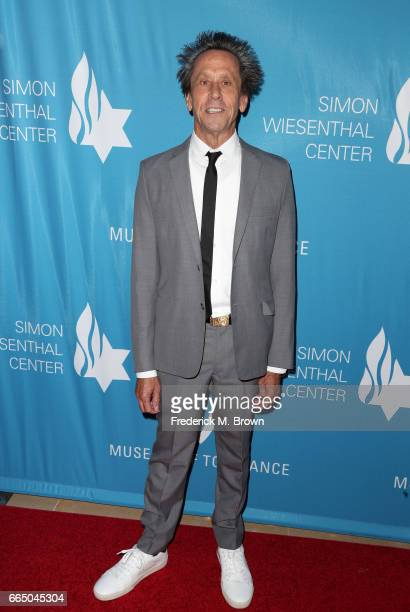 Producer Brian Grazer attends The Simon Wiesenthal Center's 2017 National Tribute Dinner at The Beverly Hilton Hotel on April 5 2017 in Beverly Hills...