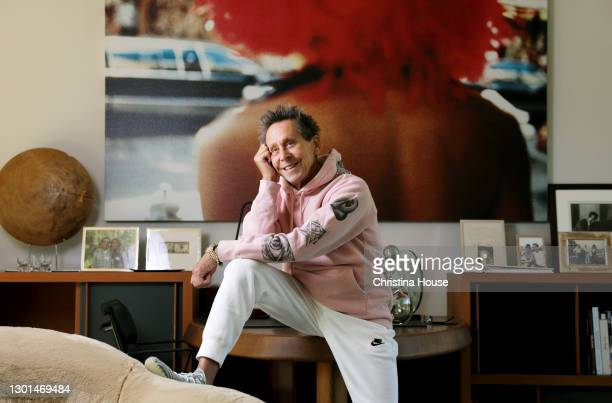 Producer Brian Grazer is photographed for Los Angeles Times on October 16, 2020 in Santa Monica, California. PUBLISHED IMAGE. CREDIT MUST READ:...