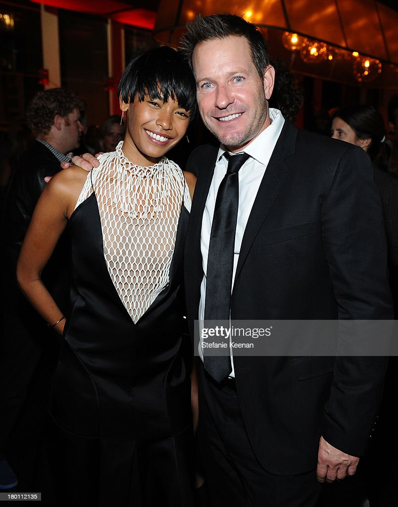 Producer Brian Oliver (R) at the Grey Goose vodka co-hosted party for 'Rush' on September 8, 2013 in Toronto, Canada.