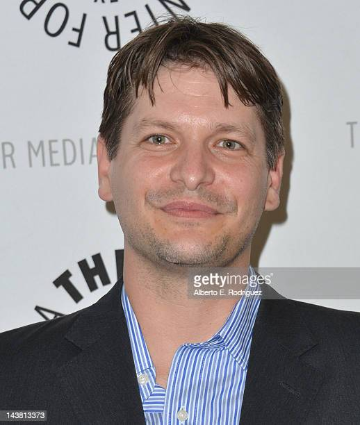 Producer Brian Tessier attends a screening of the PBS documentary American Masters Johnny Carson King of Late Night at The Paley Center for Media on...