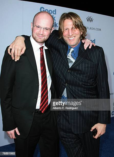 Producer Brian VolkWeiss and producer Barry Katz arrive at the Los Angeles premiere of Lion's Gate Films' Good Luck Chuck held on September 19 2007...