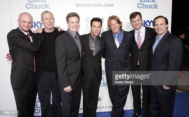Producer Brian VolkWeiss Lionsgate's Mike Paseornek director Mark Helfrich actor Dane Cook producer Barry Katz producer Mike Karz and Lionsgate's Tom...