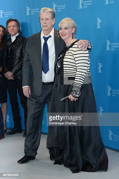 Producer Brian Wilson and Melinda Ledbetter attend the 'Love Mercy' photocall during the 65th Berlinale International Film Festival at Grand Hyatt...