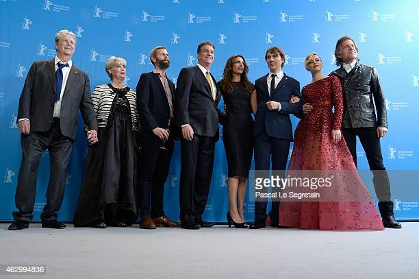 Producer Brian Wilson his wife Melinda Ledbetter Dino Jonaeter producers Jim Lefkowitz Claire Rudnick Polstein actor Paul Dano actress Elizabeth...