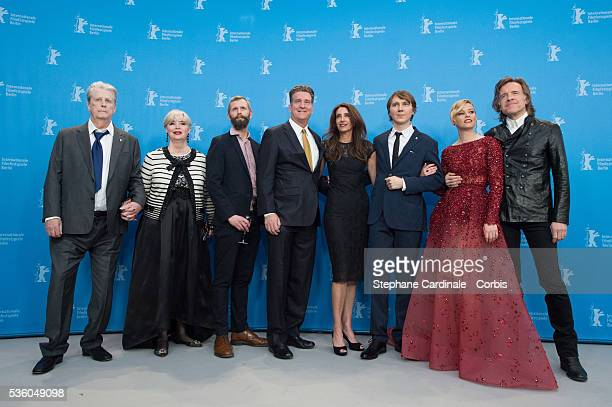 Producer Brian Wilson, his wife Melinda Ledbetter, Dino Jonaeter, producers Jim Lefkowitz, Claire Rudnick Polstein, actor Paul Dano, actress...