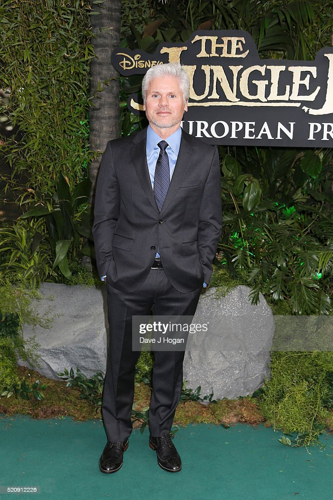 Producer Brigham Taylor arrives for the European premiere of 'The Jungle Book' at BFI IMAX on April 13, 2016 in London, England.