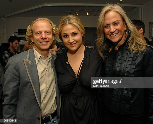 Producer Bruce Cohen Kimberly Ovitz and Judy Ovitz attend the Kimberly Ovitz Trunk Show at Satine Boutique on March 12 2009 in Los Angeles California