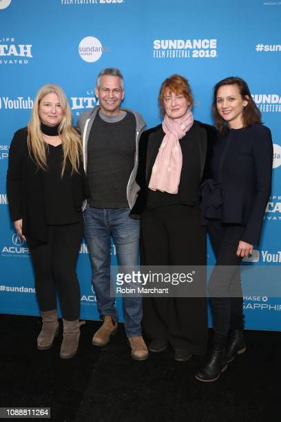 Producer Bruna Papandrea Producer Steve Hutensky Director Jennifer Kent and Producer Kristina Ceyton attend the 'The Nightingale' Premiere during the...