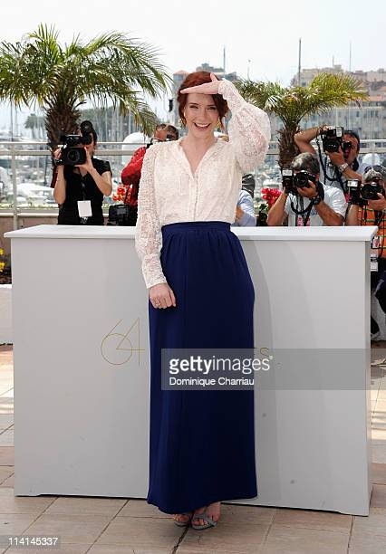 """Producer Bryce Dallas Howard attends the """"Restless"""" Photocall during the 64th Cannes Film Festival at the Palais des Festivals on May 13, 2011 in..."""