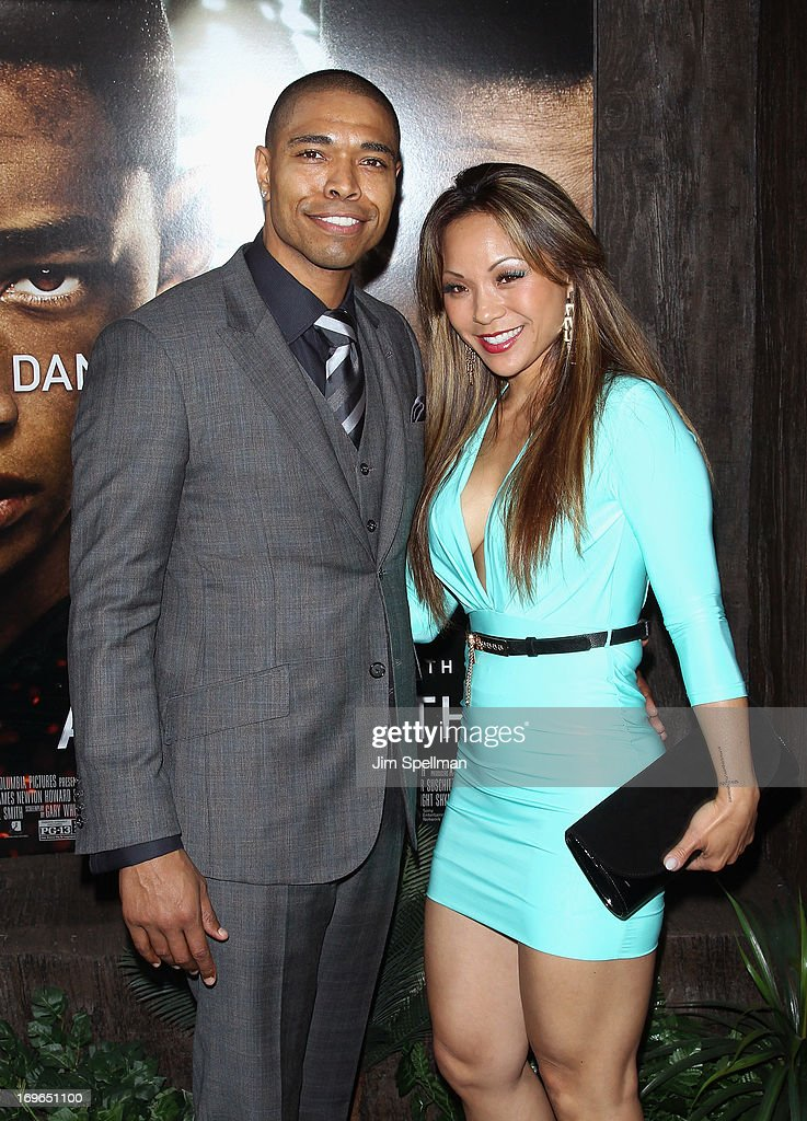 Producer Caleeb Pinkett attends the 'After Earth' premiere at the Ziegfeld Theater on May 29, 2013 in New York City.