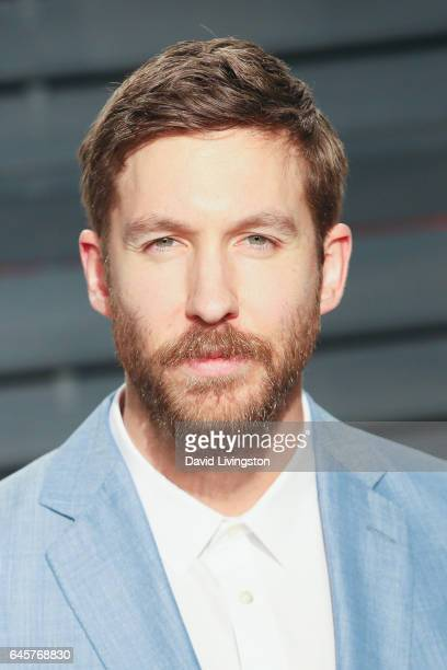 Producer Calvin Harris attends the 2017 Vanity Fair Oscar Party hosted by Graydon Carter at the Wallis Annenberg Center for the Performing Arts on...