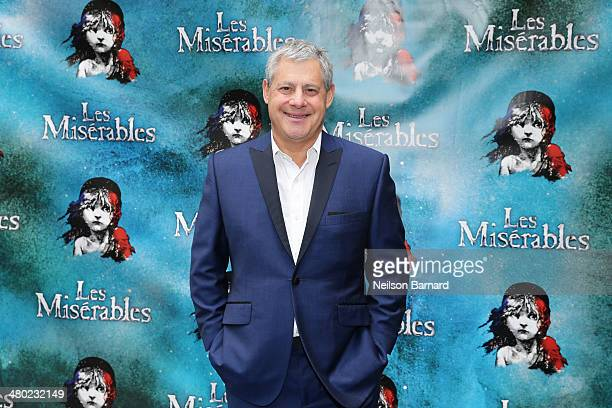 Producer Cameron Mackintosh attends the opening night of Cameron Mackintosh's new production of Boublil and Schonberg's Les Miserables on Broadway at...