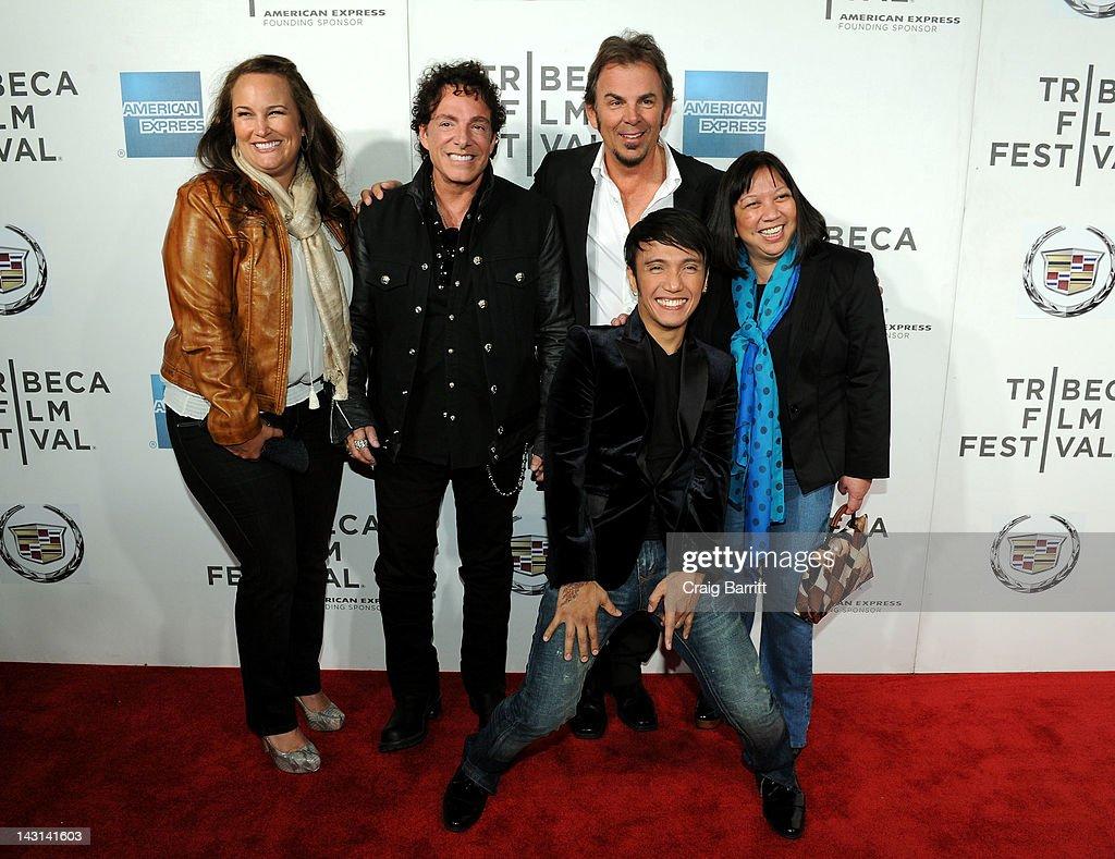 """Don't Stop Believin': Everyman's Journey"" - 2012 Tribeca Film Festival : News Photo"
