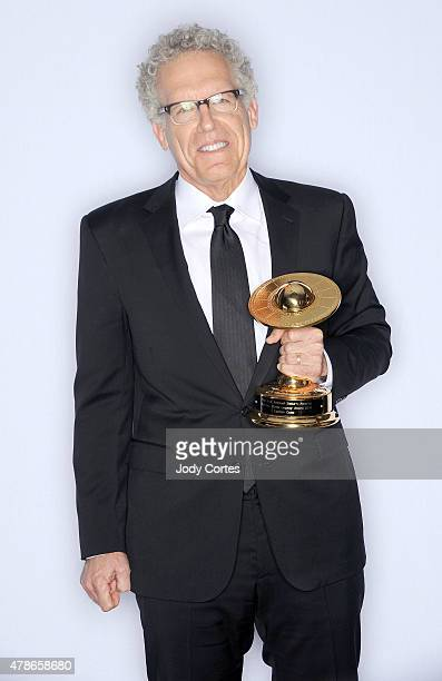 Producer Carlton Cuse poses with The Dan Curtis Legacy Award at 41st Annual Saturn Awards held at The Castaway on June 25 2015 in Burbank California