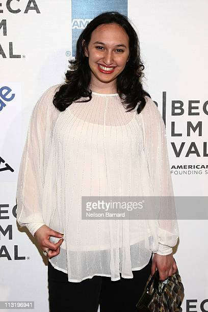 Producer Carly Hugo attends the premiere of Higher Ground during the 2011 Tribeca Film Festival at BMCC Tribeca PAC on April 26 2011 in New York City