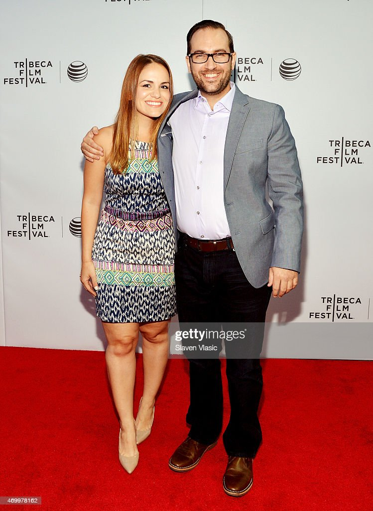 Producer Carolina Groppa and Director Matt Fuller attend the premiere of 'Autism In Love' during the 2015 Tribeca Film Festival at Regal Battery Park 11 on April 16, 2015 in New York City.