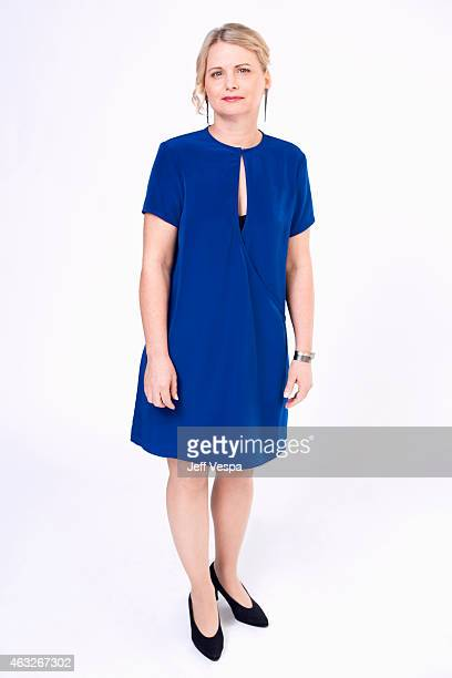 Producer Cathleen Sutherland poses for a portraits at the 87th Academy Awards Nominee Luncheon at the Beverly Hilton Hotel on February 2 2015 in...