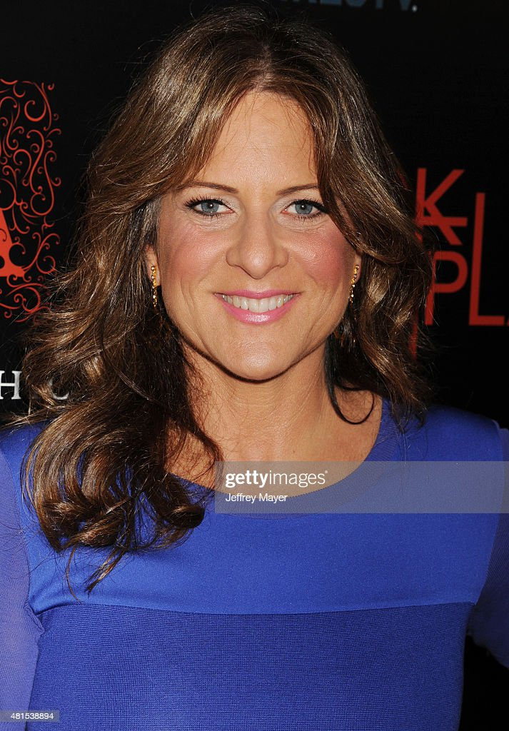 Producer Cathy Schulman arrives at the Premiere Of DIRECTV's 'Dark Places' at Harmony Gold Theatre on July 21, 2015 in Los Angeles, California.