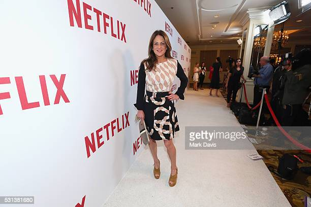 Producer Cathy Schulman attends Netflix's Rebels and Rule Breakers Luncheon and Panel Celebrating The Women of Netflix at the Beverly Wilshire Four...