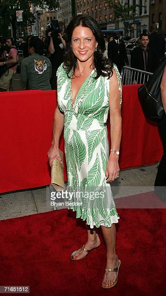 Producer Cathy Schulman attends Yari Film Group's premiere of The Illusionist at Chelsea West Cinemas August 15 2006 in New York City