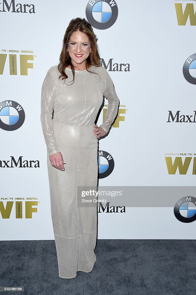 Producer Cathy Schulman, wearing Max Mara, attends Women In Film 2016 Crystal + Lucy Awards Presented by Max Mara and BMW at The Beverly Hilton on June 15, 2016 in Beverly Hills, California.