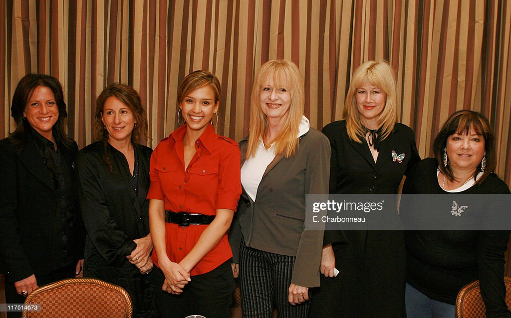 Girls in the Director's Chair, Presented by Stayfree at a Women in Film Luncheon to Empower Young Girls to Reach for the Stars : News Photo