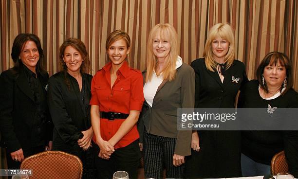 Producer Cathy Schulman Writer/Producer Nicole Holofcener Jessica Alba Writer/Director/Producer Penelope Spheeris Director Lian Lunson and Television...
