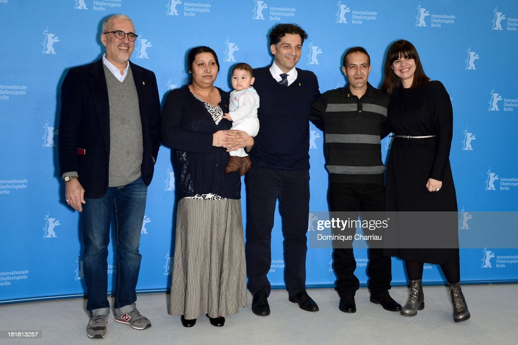 'An Episode in the Life of an Iron Picker' Photocall - 63rd Berlinale International Film Festival