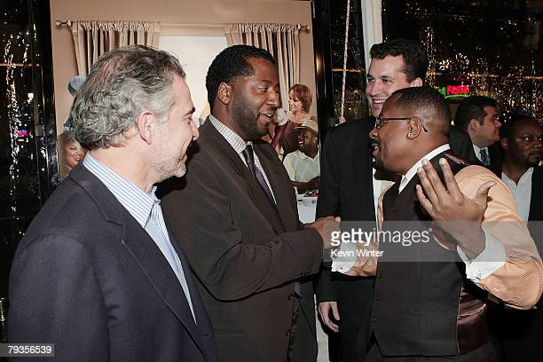 Producer Charles Castaldi director Malcolm D Lee producer Scott Stuber and actor Martin Lawrence arrive at the premiere of Universal's Welcome Home...