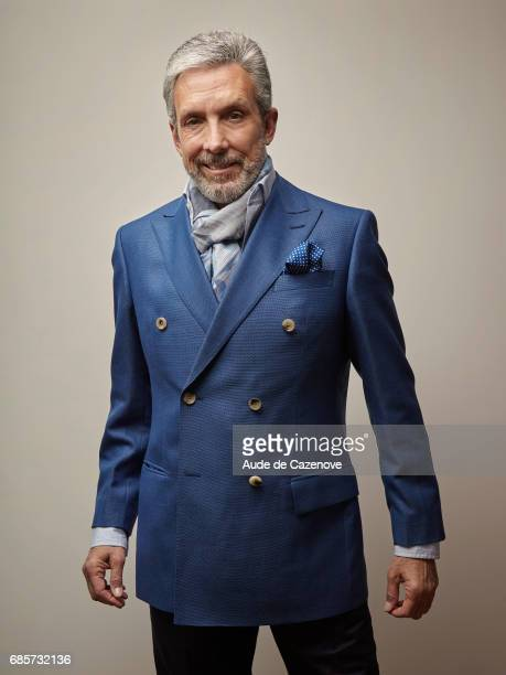 Producer Charles Cohen is photographed for Self Assignment on MAY 19 2017 in Cannes France