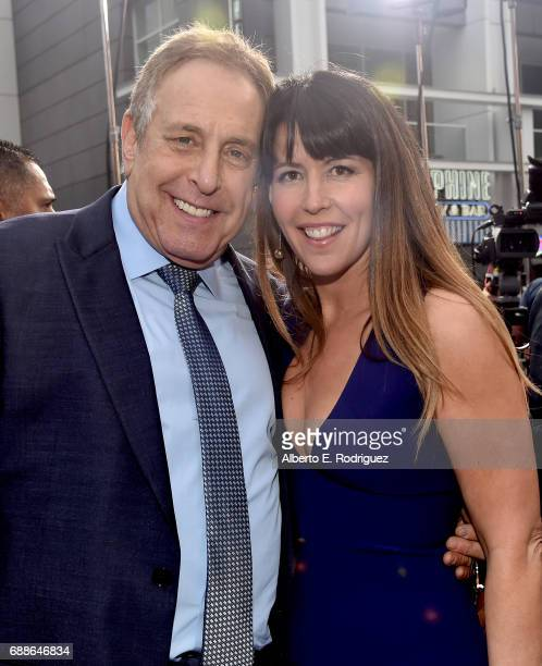 Producer Charles Roven and director Patty Jenkins attend the premiere of Warner Bros Pictures' 'Wonder Woman' at the Pantages Theatre on May 25 2017...