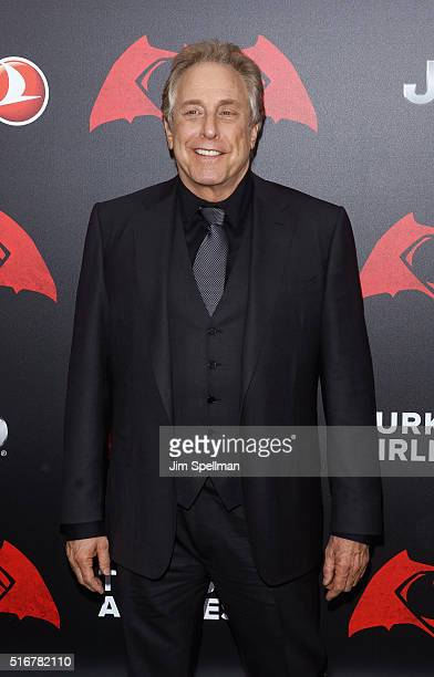 Producer Charles Roven attends the Batman V Superman Dawn Of Justice New York premiere at Radio City Music Hall on March 20 2016 in New York City