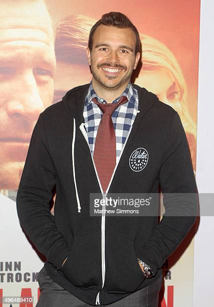 Producer Charlie Ebersol attends the premiere of Clarius Entertainment's My All American at The Grove on November 9 2015 in Los Angeles California