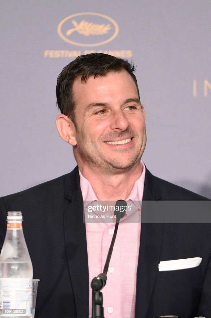 Producer Chris Bender attends 'Under The Silver Lake' Press Conference during the 71st annual Cannes Film Festival at Palais des Festivals on May 16, 2018 in Cannes, France.