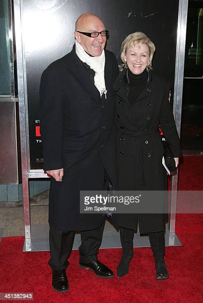 Producer Chris Brown and Tina Brown attend the premiere of Daybreakers at the SVA Theater on January 7 2010 in New York City
