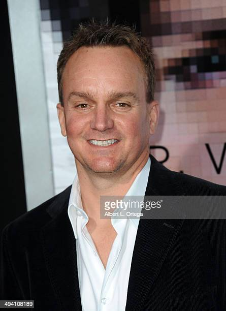"""Producer Chris Fenton arrives for the Premiere Of Warner Bros. Pictures And Alcon Entertainment's """"Transcendence"""" held at Regency Village Theatre on..."""