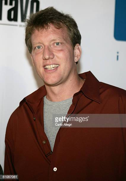 Producer Chris Moore attends the announcement of the winners of this year's Project Greenlight on July 13 2004 at The Highlands in Hollywood...