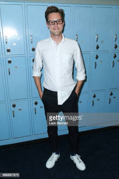 Producer Chris Storer attends the Screening Of A24's 'Eighth Grade' Arrivals at Le Conte Middle School on July 11 2018 in Los Angeles California