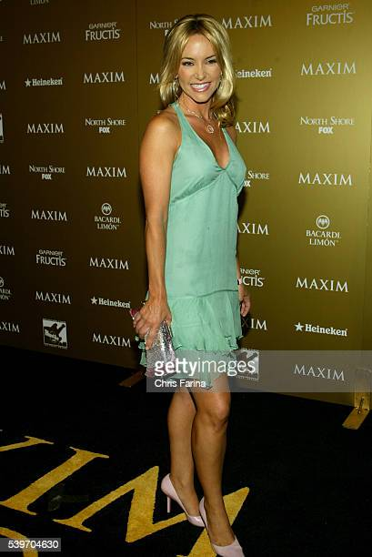 Producer Chrissy Albice arrives at the 2004 Maxim Magazine Hot 100 Party at the Hard Rock Hotel Casino