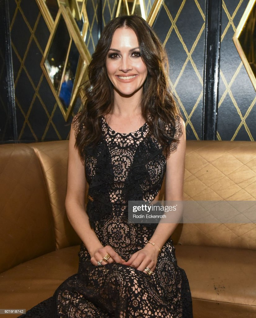 Producer Christina Arquette poses for portrait at the premiere of Gravitas Pictures' 'Survivors Guide To Prison' afterparty at Bootsy Bellows on February 20, 2018 in West Hollywood, California.