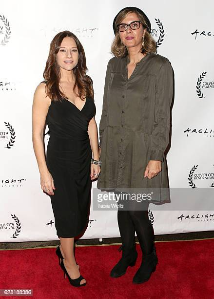 Producer Christina Jo'Leigh and director Soudabeh Moradian attend the US premiere of the feature film Polaris at ArcLight Cinemas on December 6 2016...