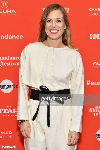 Producer Christine Beebe attends the 'Hal' Premiere during the 2018 Sundance Film Festival at The Marc Theatre on January 22 2018 in Park City Utah