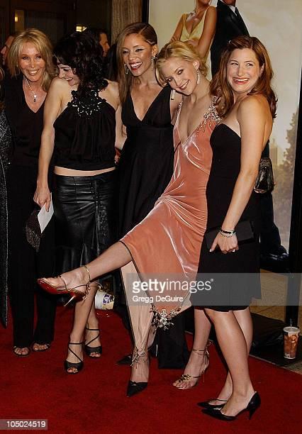 Producer Christine ForsythPeters Annie Parisse Michael Michele Kate Hudson and Kathryn Hahn